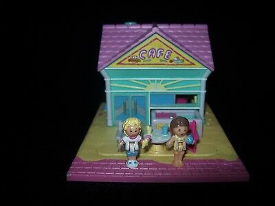EUC 100% Complete Vintage Polly Pocket Beach Cafe 1993