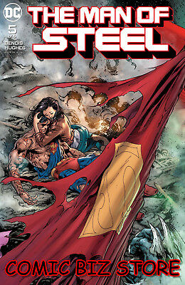 Man Of Steel #5 (Of 6) (2018) 1St Print Dc Universe Superman Bagged & Boarded