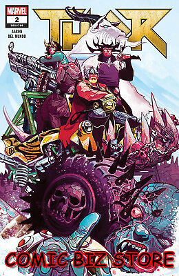 Thor  #2 (2018) 1St Printing Main Cover Bagged & Boarded Marvel Comics