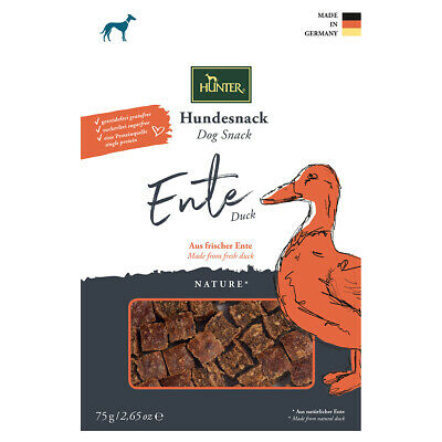 Hunter Hundesnack Nature Ente 75 g, UVP 3,99 EUR, NEU