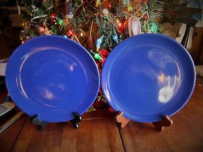 USED 2 IKEA of SWEDEN DINNER PLATES BLUE 10 1/4\  R MADE IN & 2 IKEA SWEDEN Arv Idyll Dinner Plates Portugal - $26.50 | PicClick