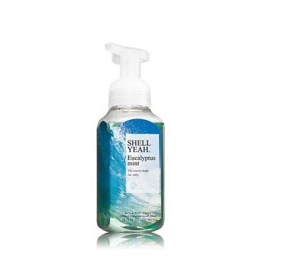 Bath & Body Works Eucalyptus Mint Gentle Foaming Hand Soap 8.75 Oz / 259 ml New
