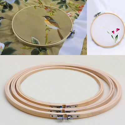 Frame Hoop Ring Embroidery Cross Stitch Sewing Tool Art Craft Accessories Top