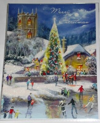"""SUPER SIZE CODE 250 CHRISTMAS CARDS X 12, JUST 39p, 9"""" x 12"""" by TRACKS   ( SS5"""