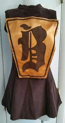 AS IS Vintage 60s Majorette/Band/Dancer Dress and Shorts Corduroy Costume Drag