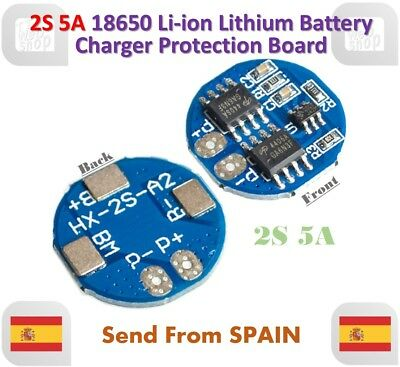2S 5A Li-ion Lithium 7.4V 8.4V 18650 PCB BMS Charger Battery Protection Board