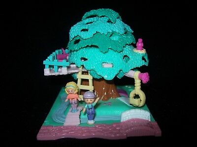 EUC 100% Complete Vintage Polly Pocket Tree House 1994