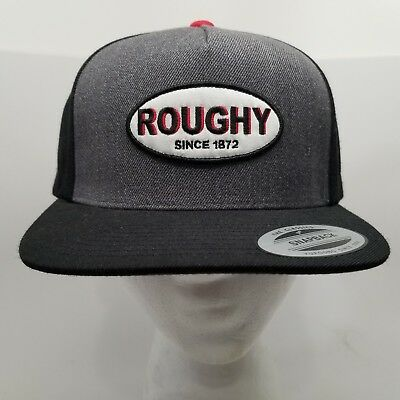 separation shoes 2a71b 63f77 ... real best price hooey roughy patch cap hat grey black snap back one  size fits all