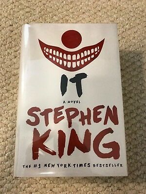Stephen King IT HC Hardcover DJ New Flawless Pennywise Horror Dark Tower Derry