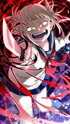 Poster 42x24cm Boku No Hero Academia Mimiko Toga League Of Villains Anime 01