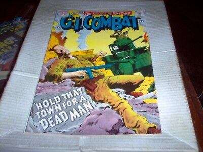 G.i. Combat # 129 The Haunted Tank Heath Art Hold That Town Look Vf-
