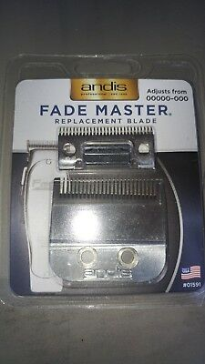 Andis Fade Master Clipper Replacement Blade Size: 00000 #19 - 01591
