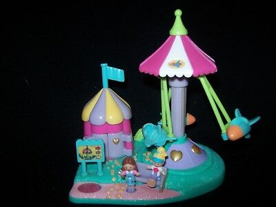 EUC 100% Complete Vintage Polly Pocket Rocket Ride 1996