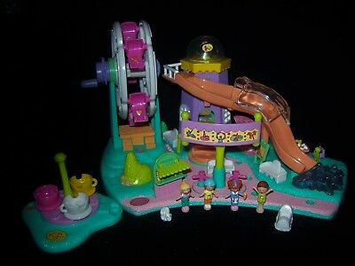 EUC 100% Complete Vintage Polly Pocket Rides and Surprises 1996