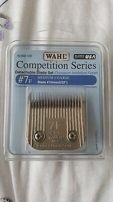 Wahl Competition Series Detachable Blade 7F 4mm for dog grooming