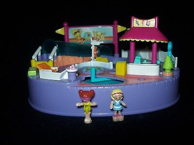 EUC 100% Complete Vintage Polly Pocket Magical Swimabout Polly 1997