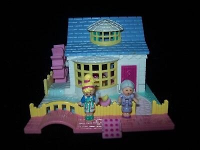EUC 100% Complete Vintage Polly Pocket Grandma's Cottage 1994