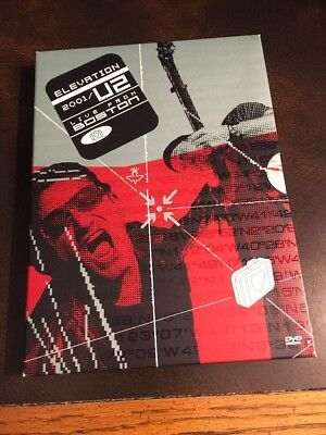 U2 Live From Boston Elevation 2001 DVD Video