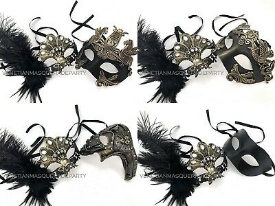 Ancient Rome Royal Family Antique European Style The King and Queen Pair Mask