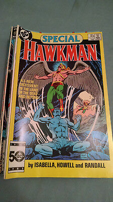 HAWKMAN Comic Book (LOT OF 22) MIXED LOT--Mostly 1986-1987-1st & 2nd Issues