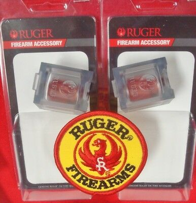 2 Ruger 10/22 BX-1 clear 10 rnd magazine s # PM143 factory new 2 mags with Patch