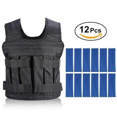 Weight Vests Adjustable Weighted Vest Running Gym Training Running Jackets Loss