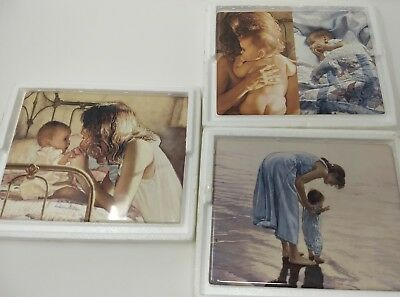 Lot of 3 Collectors Plates The Things That Matter Most Collection by Steve Hanks