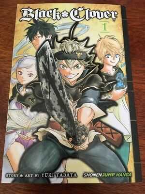 The Black Clover Manga Volume 1, The Boys Vow, Free Shipping!