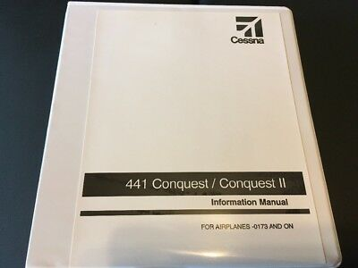 Cessna 441 Conquest II Information Manual