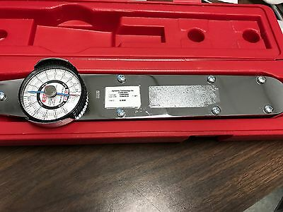 Proto J6121F 1/2 Drive Dial Torque Wrench 0-175 Ft-Lb