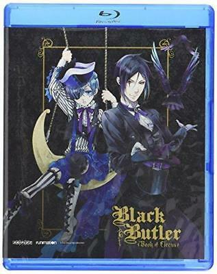 Black Butler: Book Of Circus - Season Three Blu-ray 704400059414 new!