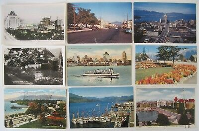 LOT of 24 BC Canada Antique & Vintage Postcards - Good Selection