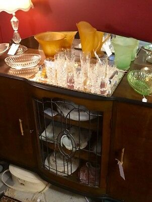 French Art Deco Leadlight Sideboard - **Excellent CONDITION**