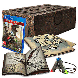 Ark Survival Evolved Limited Collector's Ed. For Ps4!!!! International Shipper!!