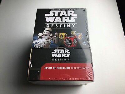 Spirit of the Rebellion Booster Box Factory Sealed - Star Wars Destiny