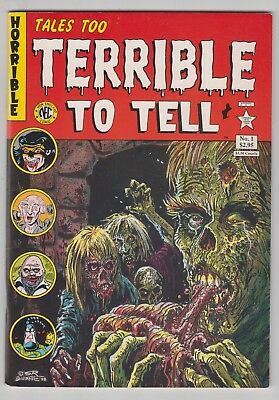 Tales Too Terrible to Tell #1, STEVE BISSETTE, 1950'S HORROR, 1989 FINE   r