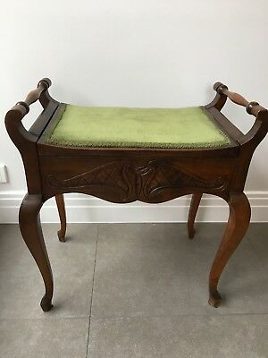 Antique Vintage Piano Stool
