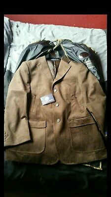 Vittorio St Angelo Jacket- Light Brown/S to M/New with Tag