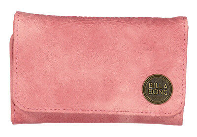 Billabong Moonstruck Wallet New Women S Pu Tags Teen Ladies Trifold Girls Pink