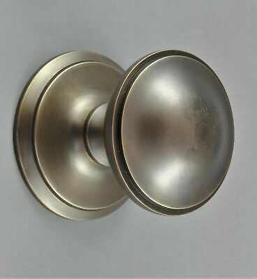 CENTRE DOOR KNOB-PLAIN STYLE SOLID BRASS-6 Colour-VICTORIAN front entrance door