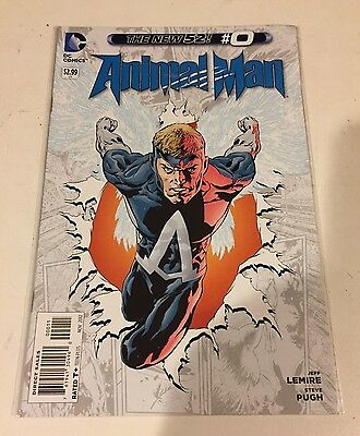 ANIMAL MAN lot #0,1-26 and Annuals #1,2 New 52 2012 LeMire DC Comics VF/NM