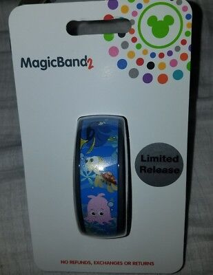 NEW Disney Parks EPCOT The Seas With Nemo & Friends Magic Band 2 LINK IT LATER