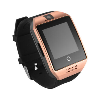 Q18 Bluetooth Smart Watch Phone w/ Camera SIM Slot For Android IOS Phone AC1120