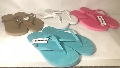 3aec434924a Old Navy Womens Flip Flops Assorted Colors   Sizes Brand New Pool Beach  Sandals