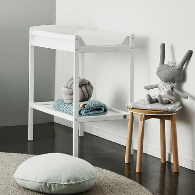 Bristol 2 Tier Change Table – White