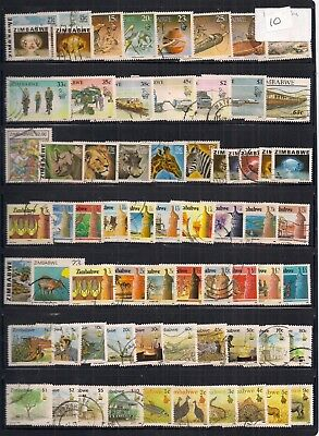 Zimbabwe- Super Selection Of Fine Used Stamps.looks All Different.good Lot.