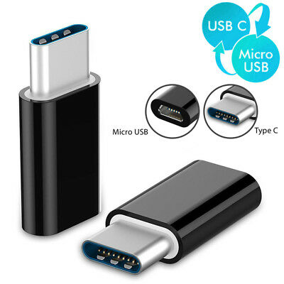 5pcs USB Type-C 3.1 To Micro Converter USB-C Charging Adapter for Samsung S8