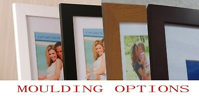 "Photo Frame Picture Frames 4x6 5x7"" 6x8 8x10 10x13 11x14 A4 A3 16X20 Custom Size"