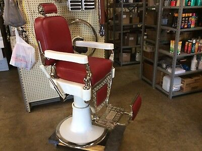 Antique Barber Chair By Koch