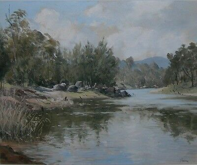 Kenneth Green ~ Appealing Original Oil Painting